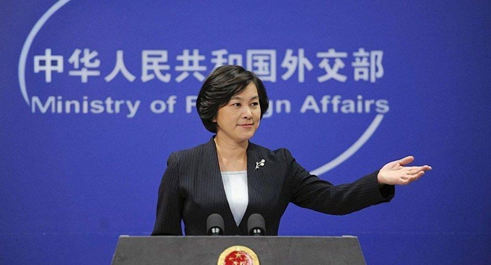 中國外交部:台灣海峽兩岸保持和平發展符合全世界的利益