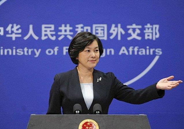 中国敦促有关方面停止用宗教问题干涉中国内政