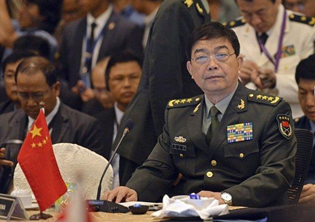 中国防长:2017年将举行中国-东盟海军联合演练