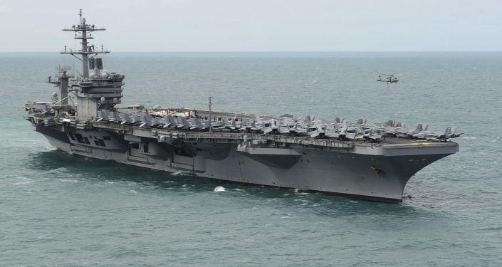 美國將在南海諸島附近舉行海上軍演