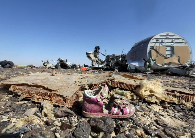 俄A321失事航班碎片殘留物質已被送至莫斯科用以檢查
