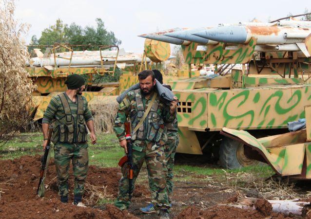 敘利亞軍人,德拉市