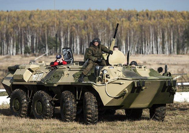 BTR-80步兵战车