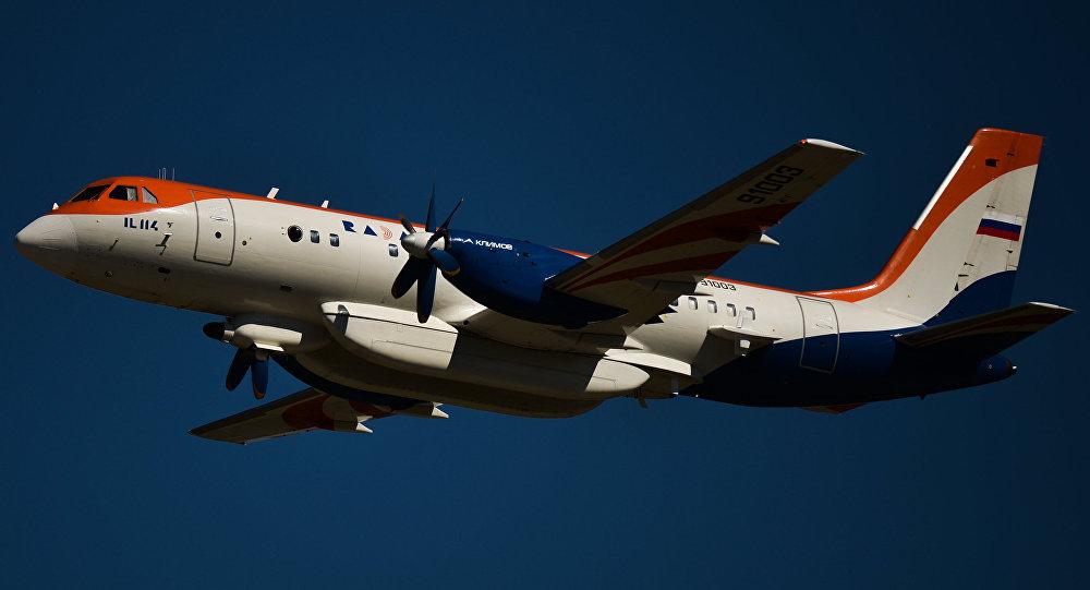 伊爾-114飛機