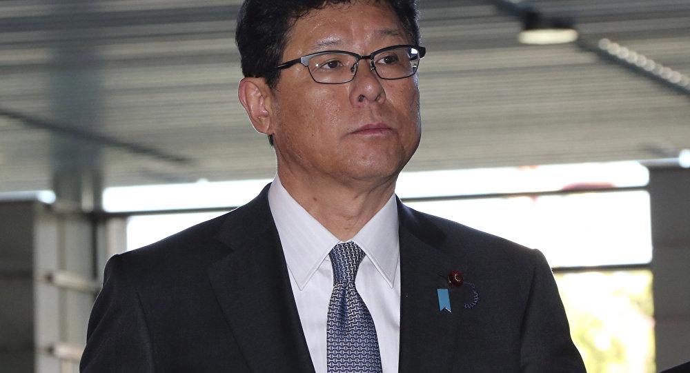日本復興大臣高木毅