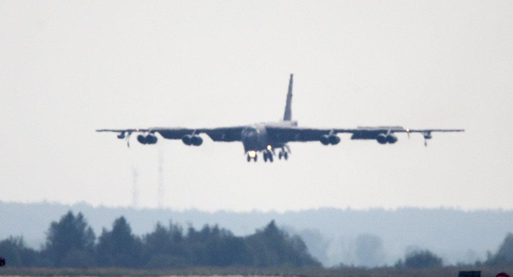 美國在最近兩天已將第4架B-52部署到歐洲