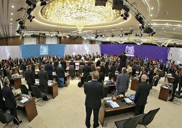 媒體:二十國集團領導人商定打擊恐怖組織的資金來源與人員流動