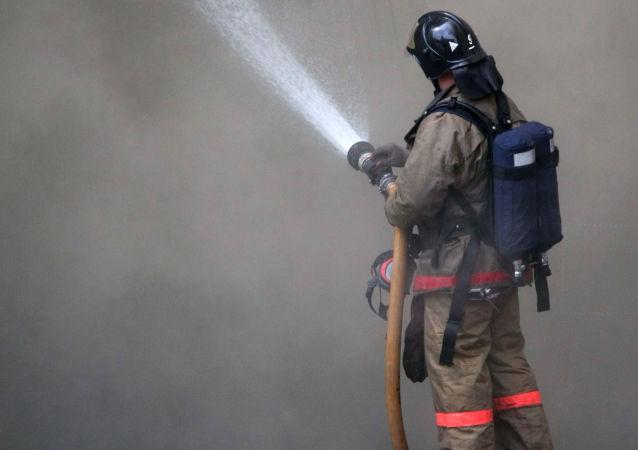 消息人士:俄坦波夫州居民楼燃气爆炸致5套住宅受损