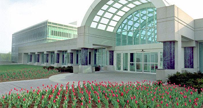 中情局新总部入口