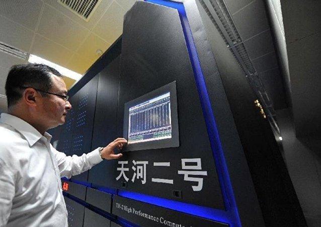 中國「天河二號」六奪全球超算冠軍