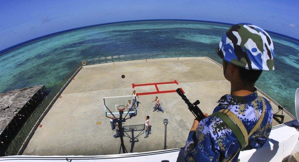 媒體:中國海警將在南海進行軍事訓練