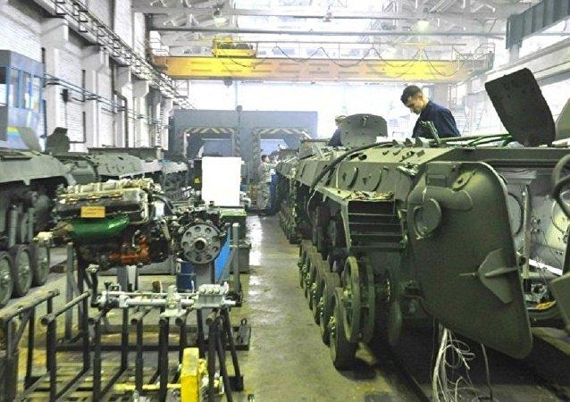 烏克蘭軍工企業轉為特殊模式運作