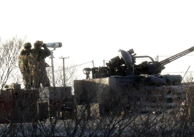 媒體:韓國海軍陸戰隊接到黃海進入戰備狀態的命令