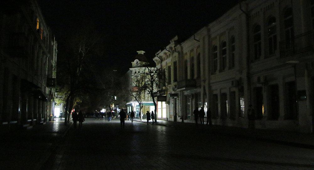 克里米亞領導人:輸電線路遭破壞是一場國際鬧劇