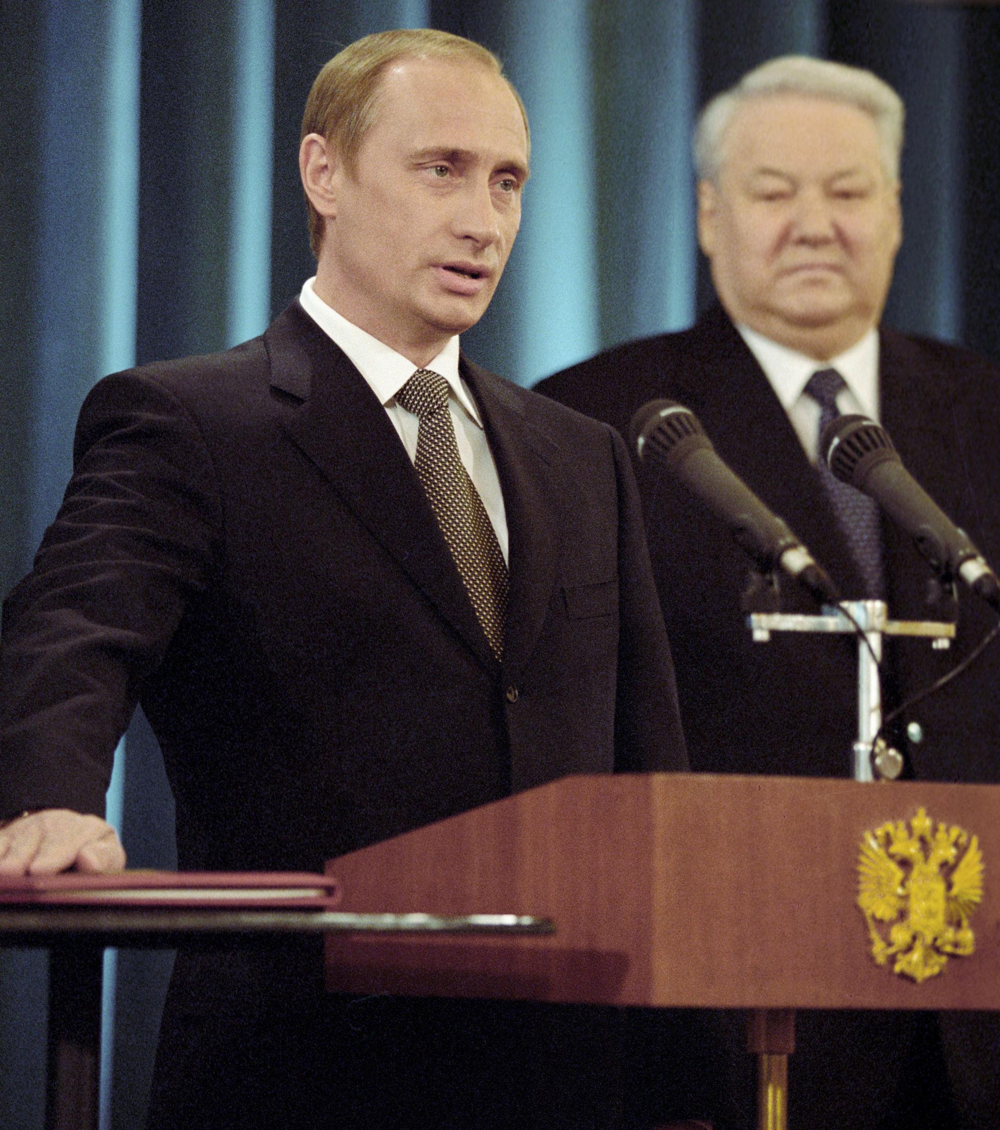 普京与叶利钦