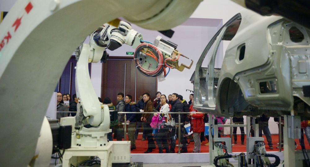 2015年世界四分之一工業機器人銷往中國