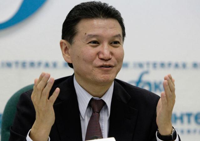 国际棋联主席基尔桑•伊柳姆日诺夫