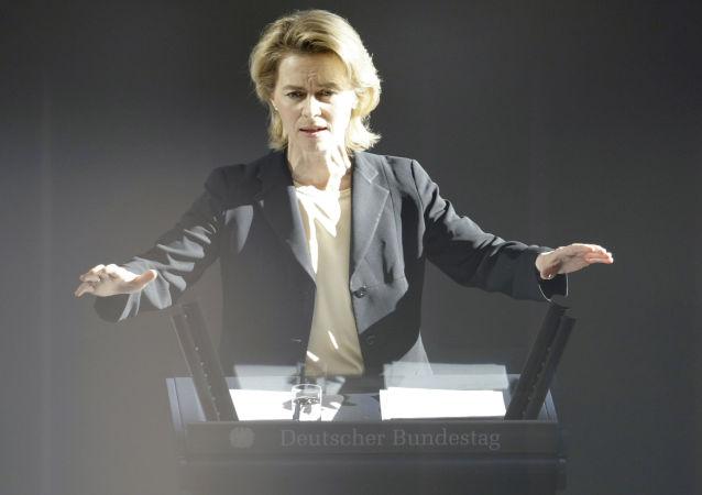 德國國防部長烏爾蘇拉∙馮∙德萊恩