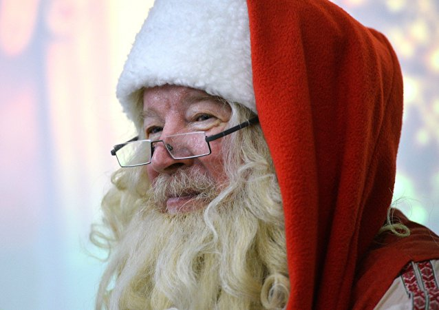 """""""圣诞老人""""在巴西偷走一架直升机"""