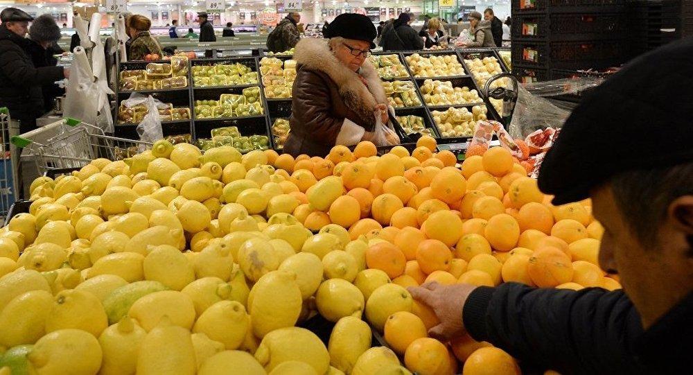 土耳其水果在俄罗斯商店