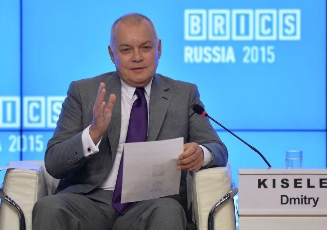 「今日俄羅斯」國際新聞通訊社總經理德米特里·基謝廖夫