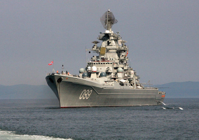 """""""彼得大帝""""号重型核动力巡洋舰"""