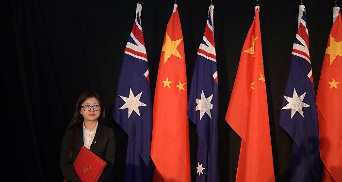 澳大利亚和中国商定积极发展军事合作
