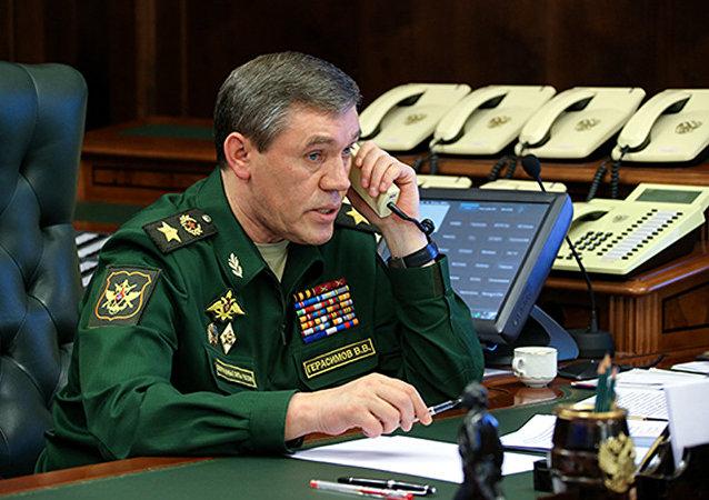 俄总参谋长计划与北约盟军最高总司令举行会晤