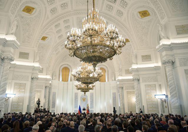 俄总统新闻秘书:普京12月1日将向联邦议会发表国情咨文