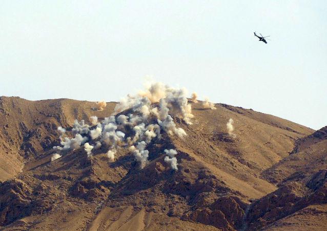 敘利亞恐怖分子正在試圖離開其陣地