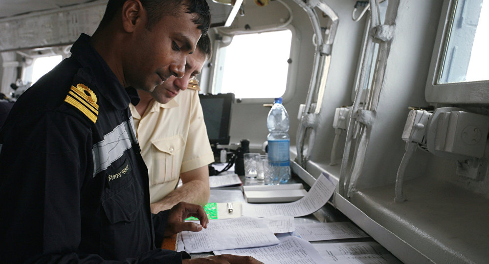 「Indra Navy」的國際軍演/資料圖片/