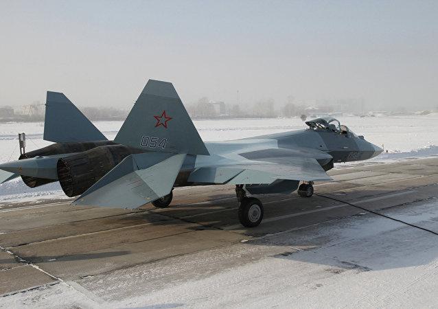 俄國防部:俄第五代戰機飛行試驗接近尾聲