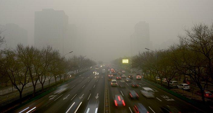 中国中央气象台: 中国冀豫鲁等地将在空气重污染中跨入新年
