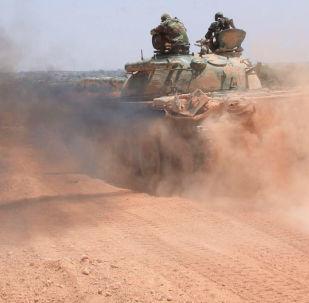 叙杜马市的武装分子愿意放下武器并离开东古塔