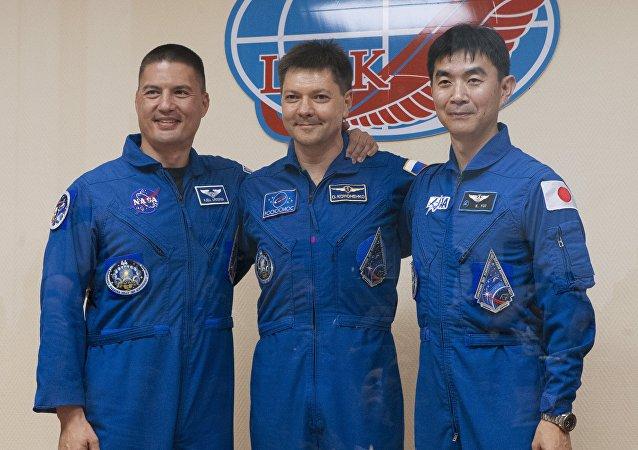 「聯盟TMA-17M」號飛船返回艙在哈薩克斯坦境內指定地點著陸