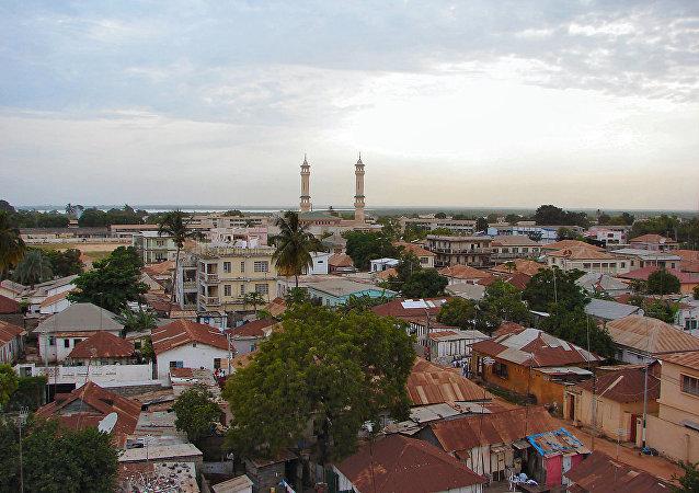 岡比亞首都班竹