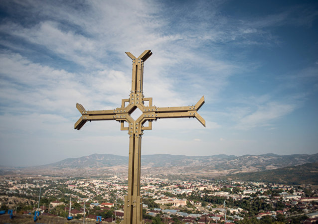 纳戈尔诺-卡拉巴赫共和国首都斯捷潘纳克特