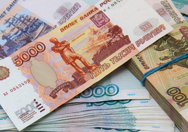 俄财长建议本国公民存卢布