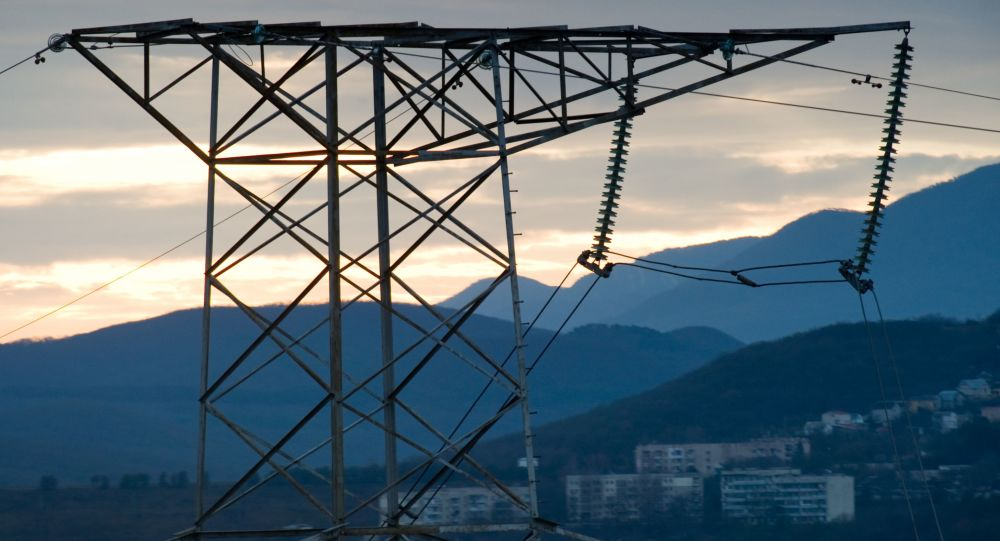 俄议员:对克里米亚的供电恢复