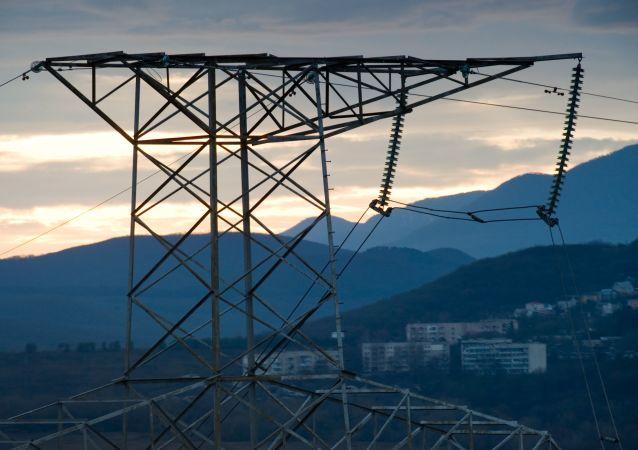 克里米亚停电为输电线断线所致