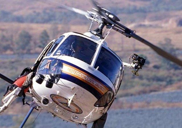 一架直升機在勘察加硬著陸 造成1人死亡 6人受傷