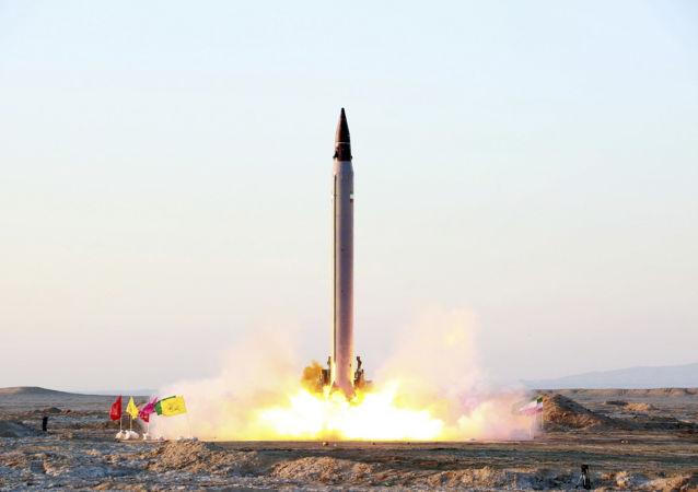 伊朗發射太空運載火箭