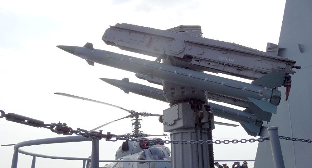 """俄""""莫斯科""""号巡洋舰"""