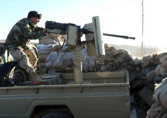 庫爾德軍人