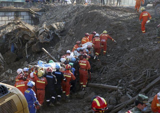習近平對深圳山體滑坡救援工作作出指示 要求盡力減少人員傷亡
