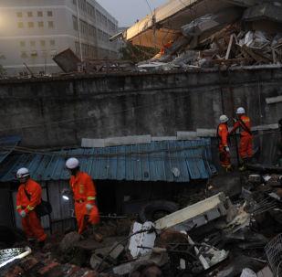 福建楼房倒塌造成至少14人受伤
