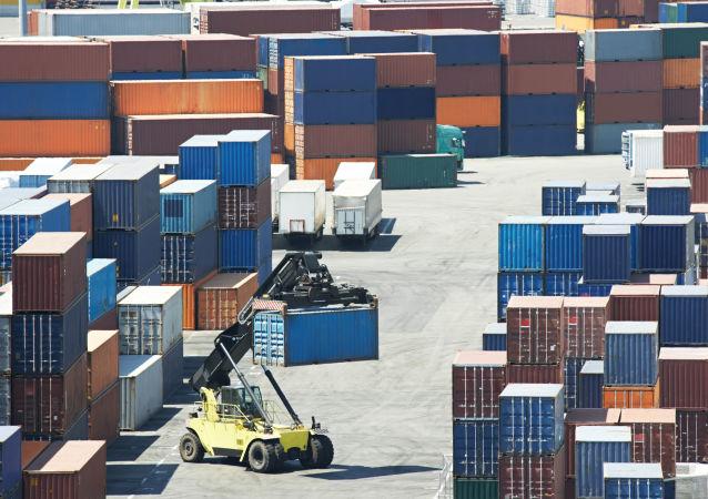 2018年年初俄鐵港口集裝箱卸貨量創新紀錄