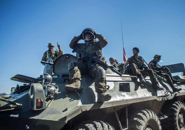 乌克兰问题联络小组就顿巴斯地区停火达成协议