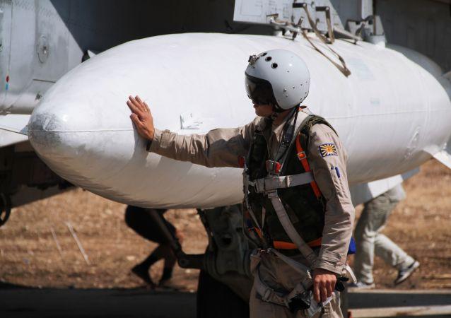 俄空天軍一周內在敘利亞執行戰鬥飛行330余架次 摧毀恐怖分子設施790多處