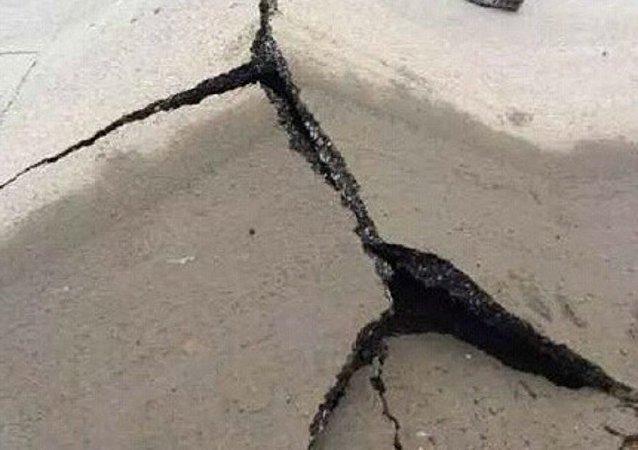 山東一石膏礦發生垮塌 約20人被埋